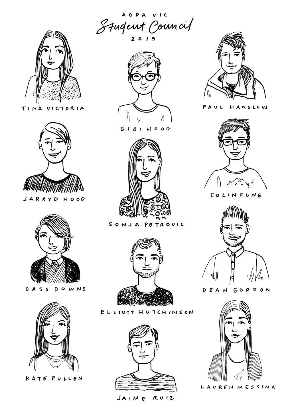 AGDA-Student-Council-Group_2015