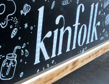 Kinfolk Café – Signwriting