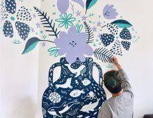 Mural – Vase of Nature